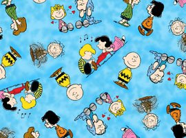43-wide-peanuts-happiness-blue-cotton-fabric-by-the-half-yard