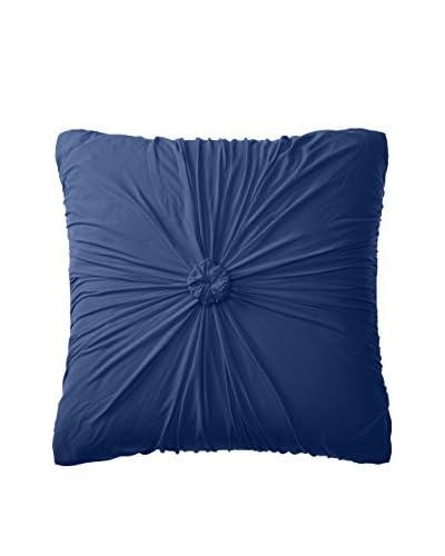 lazybones Rosette Euro Pillowcase, Indigo
