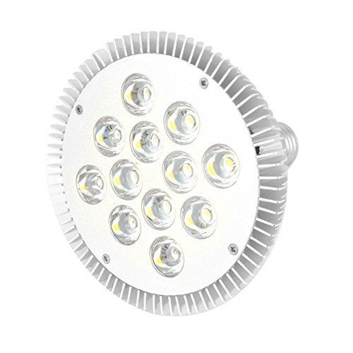 Water & Wood Ac85-265V 12-Leds 24W E27 Dimmable Cool White Led Light Spotlight Bulb