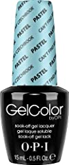 OPI Gel Nail Color Pastel Cant Find My Czechbook .5 Ounce