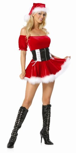 2 Piece Santa's Helper Costume Set