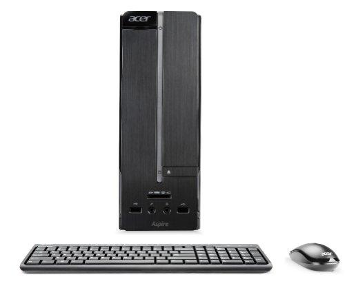 Acer Aspire XC-600 SFF Desktop PC (Intel Core i7 3770 3.4GHz Processor, 8GB RAM, 1TB HDD, DVDRW, LAN, WLAN, Nvidia Graphics, Windows 8)