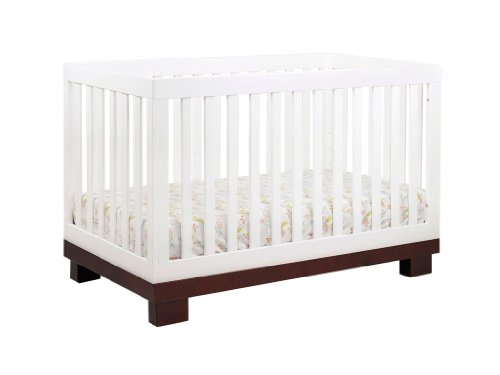 Babyletto Modo 3 In 1 Crib With Toddler Rail, Two Tone