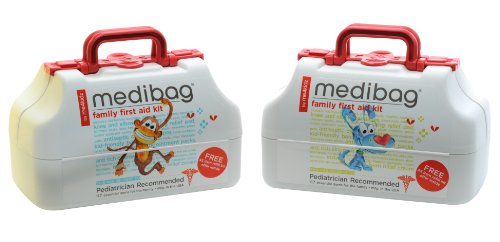 Deal medibag 117 Piece Kid Friendly First Aid Kit for the Whole Family Guides