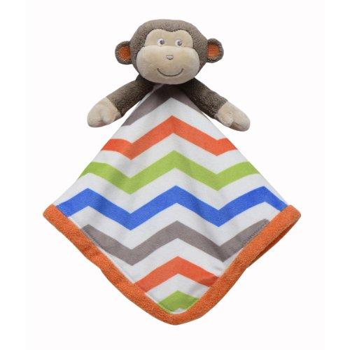 Babystarters Snuggle Buddy Security Blanket, Brown