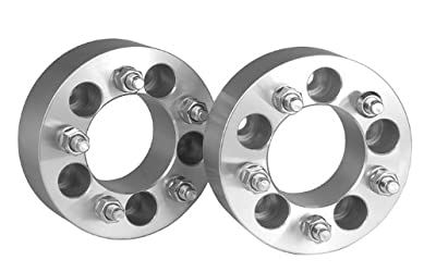 2 Dodge Dakota Wheel Spacers Adapters 2 inch with a 5×4.5 bolt pattern