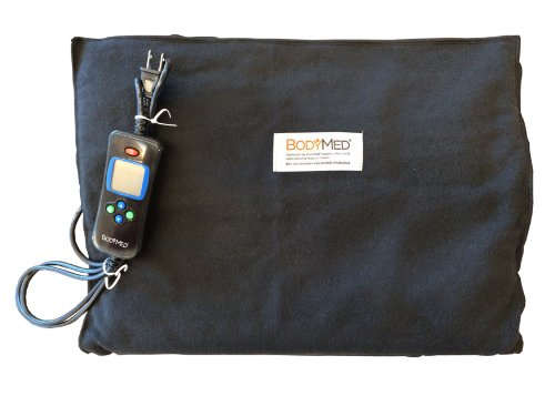 "Sale!! BodyMed® ZZHP1427B 14"" x 27"" Digital Electric Moist Heating Pad (27 inches, Black)"