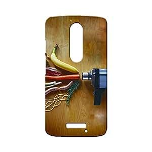 BLUEDIO Designer Printed Back case cover for Motorola Moto X3 (3rd Generation) - G7670