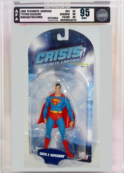 Picture of AFA Crisis on Infinite Earths 2 Earth 2 Superman Action Figure AFA 95 (B000RYD8FS) (Superman Action Figures)
