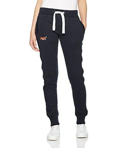 Superdry Pantalone Felpa Orange Label Slim Lite Jogger [Blu Melange]