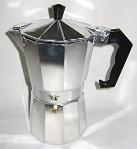 Coffee Maker On Hob : NEW TRADITIONAL 6 CUP STOVE HOB TOP ESPRESSO EXPRESSO COFFEE MAKER MOKA POT SH: Amazon.co.uk ...