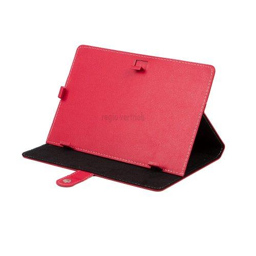 "M0359 Universal Leder Tablet PC Bookstyle Tasche Rot für Samsung Galaxy Tab 4 10.1 LTE, Samsung Galaxy Tab 4 10.1 3G, lenovo A10-70 3G, Sony Xperia Z2 Tablet, Archos 101 Neon, Odys IEOS Quad 25,7, Lenovo Ideatab S6000-H, Medion Livetab E10316 MD98516, IconBit NetTab Thor, lenovo ideaTab A2109A, Coby Kyros MID1045, Point of View mobii PL1015, Point of View ProTab 3XXL, Touchlet 9.7"" X10, Sony Xperia Tablet S, Trekstor SurfTab ventos 9.7, Asus VivoTab Smart, Acer Iconia Tab W510, Samsung Galaxy Ta"