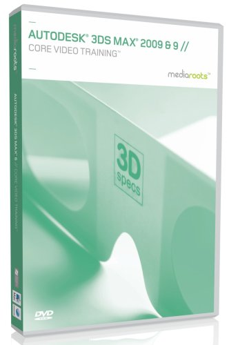 Autodesk 3DS Max 2009 & 9 Core Video Training (Mac/PC DVD)