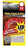 Rope Light Clips, Box/12