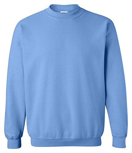 Gildan G180 Adult Sweatshirt - Light Blue - X-Large