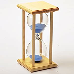 Amazon.com: 60 Minutes Hourglass SZAT Sand Timer Polished Natural