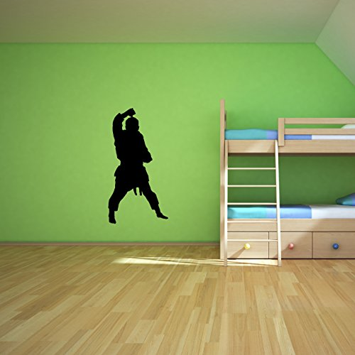 Martial-Arts-Wall-Decal-Sticker-1-Decal-Stickers-and-Mural-for-Kids-Boys-Girls-Room-and-Bedroom-Karate-Sport-Wall-Art-for-Home-Decor-and-Decoration-Martial-Art-Kung-Fu-Taekwondo-Silhouette-Mural