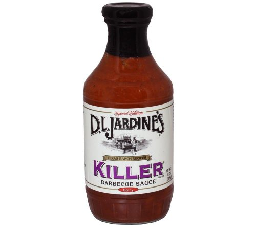 D.L. Jardines Killer Hot BBQ Sauce, 18 Oz(Pack Of 2)