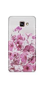 Casenation Vivid Pink Flowers Samsung Galaxy A5 (2016) Glossy Case