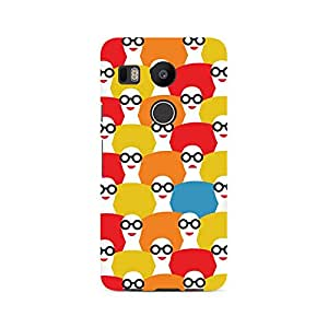 Ebby Afro Chick Premium Printed Case For LG Nexus 5X