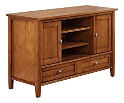 Simpli Home Warm Shaker 47 inches wide x 29 inches high TV Stand by Simpli Home