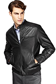 Autograph Leather Biker Jacket