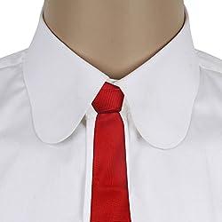 His Honour Men's Zing Red Neck Tie