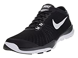 Nike Women\'s Flex Supreme Tr 4 Black/White/Anthracite/Stealth Training Shoe 8.5 Women US