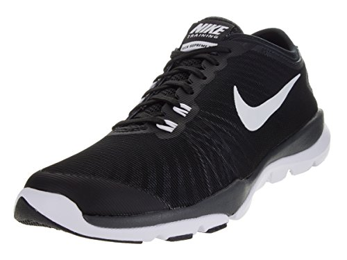 5e936ea929cf Nike Women s Flex Supreme TR 4 Cross Trainer Black White Anthracite ...