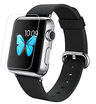 【2枚パック】【ShineZone】Apple Watch 38mm専用液晶保護フィルム 気泡軽減 高光沢 液晶保護 シート
