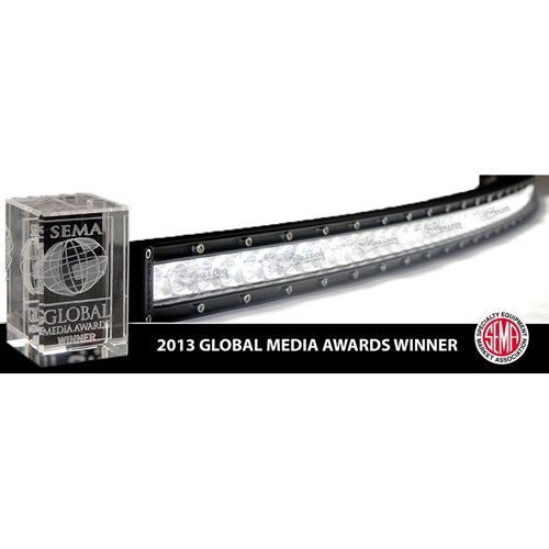 "Bulldog Led 30"" Dr Curved Bar Combo White 303Cur-02507"