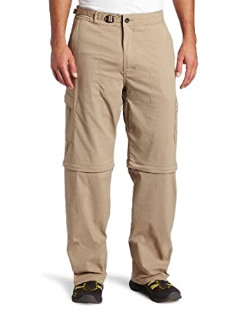 prAna Living Mens Stretch Zion Convertible 32-Inch Pant by prAna