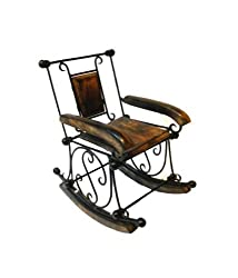 Onlineshoppee Wooden Rocking Chair (Brown)