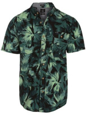 Volcom Not Exactly EVRT S/S-Camicia a maniche corte, da uomo Verde verde XL