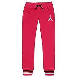 Jordan Girls' Track Pant (617844206507_Pink_12 - 13 Years)
