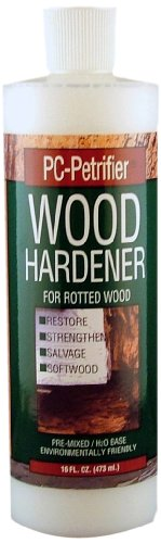 Pc Products Pc-Petrifier Water-Based Wood Hardener, 16 Oz Bottle, Milky White