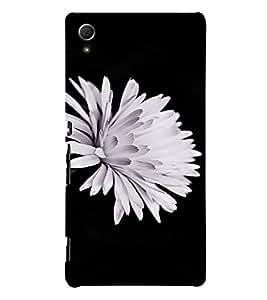 PrintVisa Flower Design 3D Hard Polycarbonate Designer Back Case Cover for Sony Xperia Z4