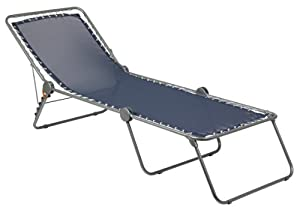Lafuma Siesta Sun Chaise Lounger - Ocean Color by Lafuma