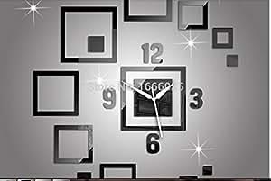 Decoration Fashion Acrylic Reloj Pared Living Room Free Shipping