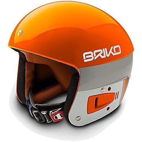 [해외] BRIKO FIS6.8 레이싱 스키 헬멧 SH0001-16 A006(ORANGELAVA)- (SIZE:60CM)