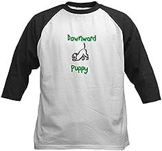 CafePress Kids Baseball Jersey - Downward Puppy Kids Baseball Jersey