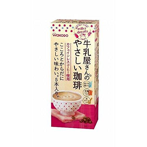 和光堂 牛乳屋さんのやさしい珈琲 箱 5本