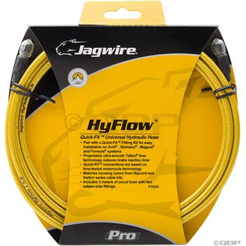 Buy Low Price Jagwire HyFlow Disc Hose Gold Medal 3000mm Requires Jagwire HyFlow Quick-Fit Kit (HBK410)