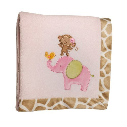 Carter's Jungle Jill Fleece Blanket - 1