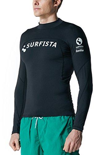 Tesla-Surfista-Mens-UPF-50-Long-Sleeve-Crew-Athletic-Fit-Rashguard-T71