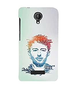 EPICCASE Ashes to Ashes Mobile Back Case Cover For Micromax Canvas Spark Q380 (Designer Case)