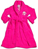 Sweet n Sassy - Girls Microfiber Purrfect Princess Cat Robe, Raspberry 30223-14/16