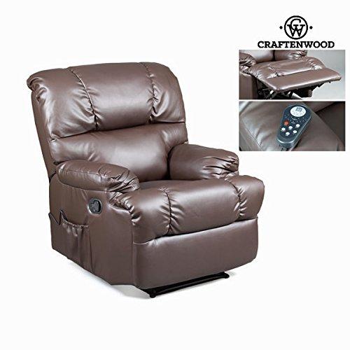 Poltrona relax e massaggio marrone by Craften Wood (1000026204)