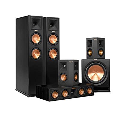 Klipsch 5.1 RP-260 Reference Premiere Speaker Package with R-112SW Subwoofer (Ebony)