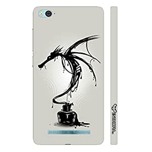 Enthopia Designer Hardshell Case Dragon Ink Back Cover for Xiaomi 4i